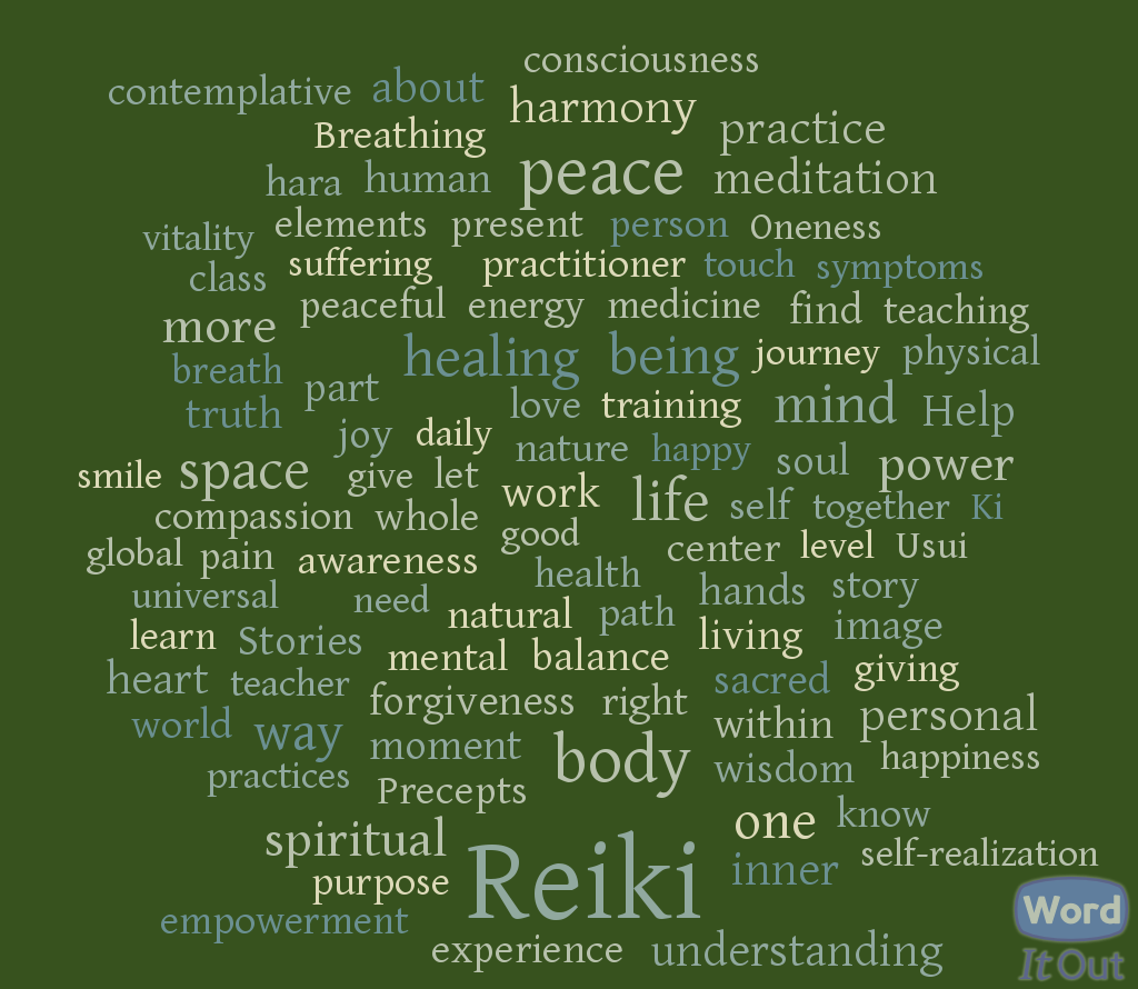 The Language of Reiki