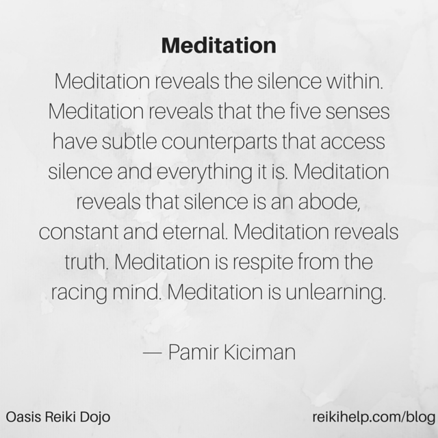 Compilation of Meditation Posts